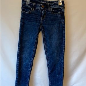American Eagle denim jeans pants size 4 jegging